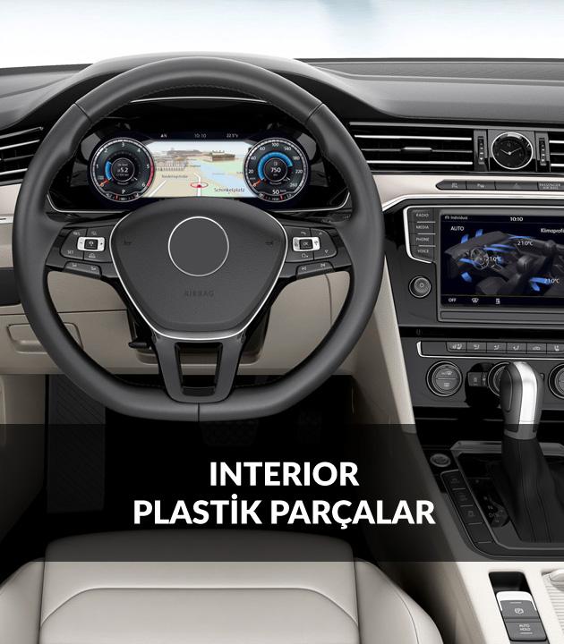 Interior Plastik Parçalar